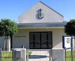 Finoboard Береза лущеная, WF в новоапостольской церкви