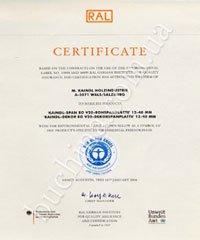 Der Blaue Engel сертификат