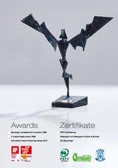 Награды KAINDL за разработки и инновации в области экологии и защиты окружающей среды